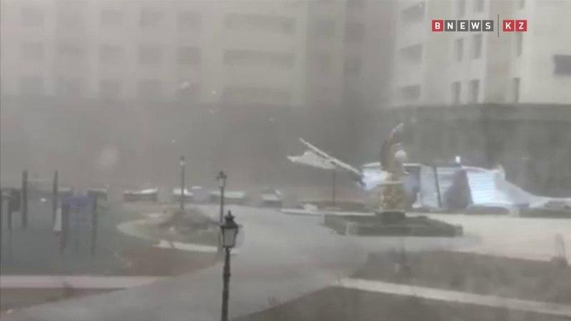 Буран в Астане 22 05 2018