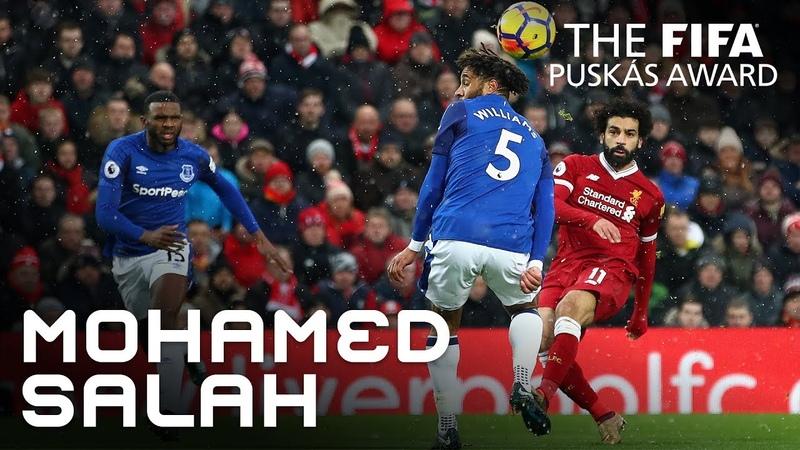 Puskasaward MOHAMED SALAH GOAL – VOTE NOW!