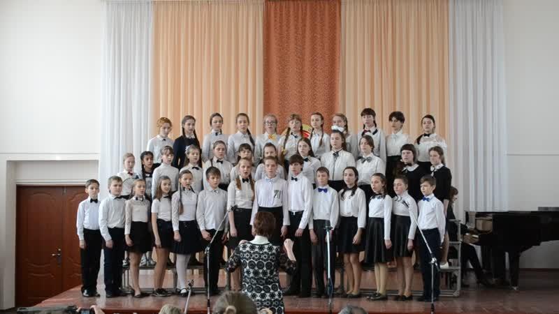Старший хор школы Вечный огонь