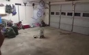 What would happen if you light a firework in a garage?