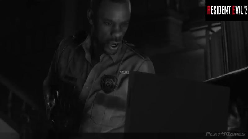Resident Evil 2 Remake Leon Noir Gameplay Demo DLC Costume Zombie Game 2019