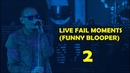 Linkin Park - Live Fail moments (Funny Bloopers) 2