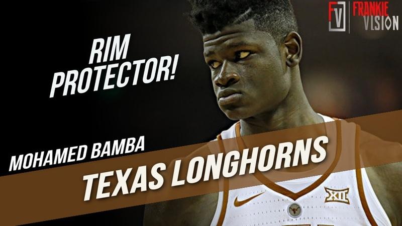 Mohamed Bamba Texas vs. Kansas   12.29.17   22 Pts, 15 Rebs, 8 Blks, Rim Protector!