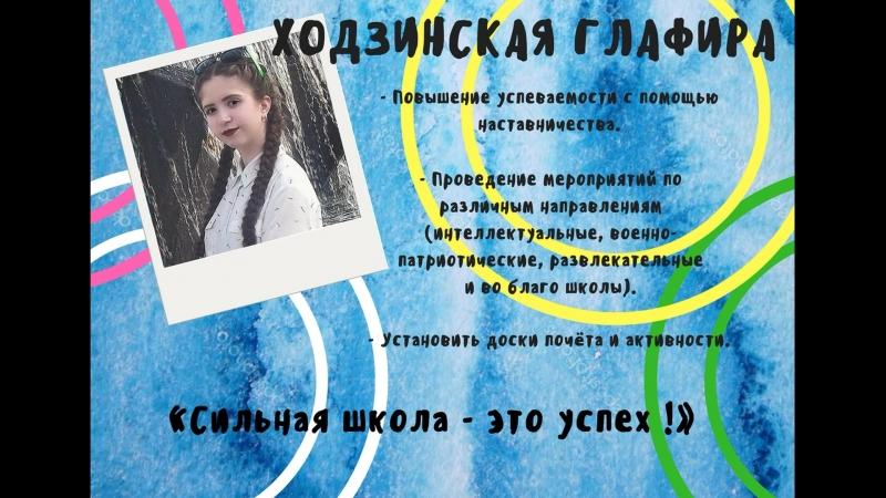 Ходзинская Глафира