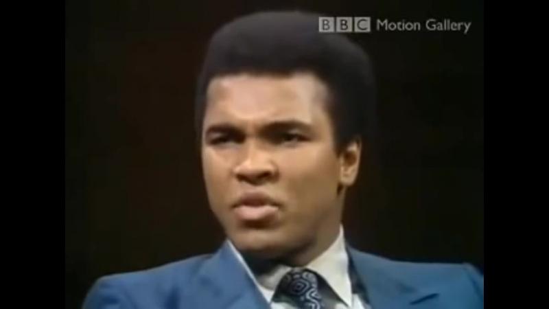 Muhammad Ali über Multikulti-Ideologie des Westens - BBC in 1971