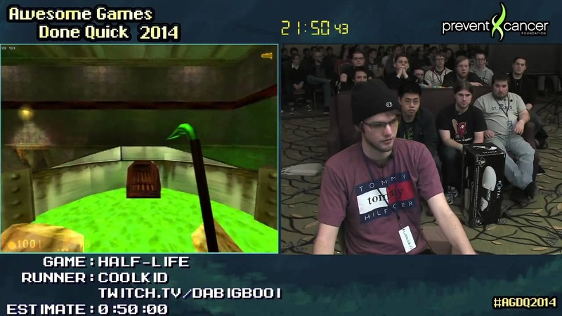Half-Life Hard SPEED RUN (03925) [PC] Live by Coolkid AGDQ 2014