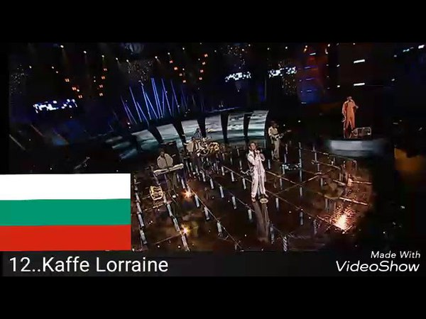 Болгария на Евровидении 2005-2018 мой топ 12