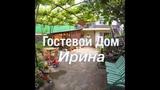 Обзор двора, кухни и номеров. Гостевой дом