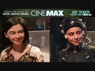 Алита - за кадром бонусные кадры - смотрите кино в cinemax.mp4