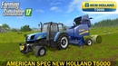 Farming Simulator 17 AMERICAN SPEC NEW HOLLAND T5000 SERIES TRACTOR