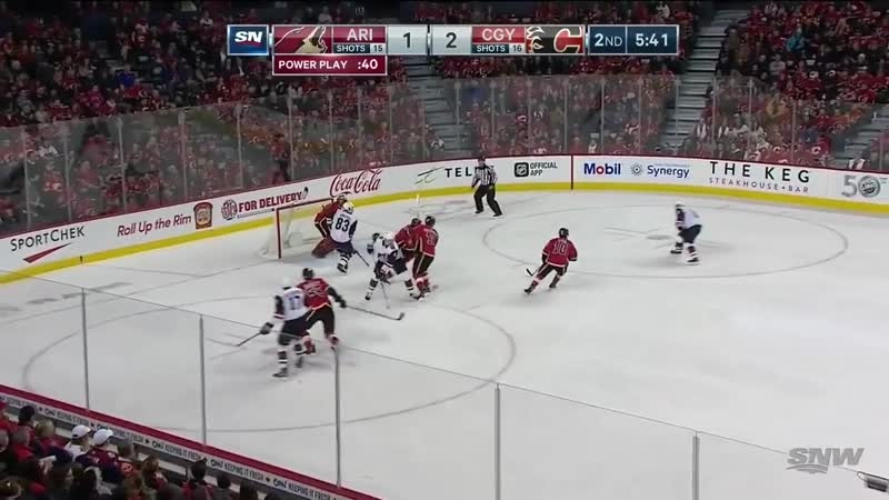NHL Highlights _ Coyotes vs. Flames - Feb 18, 2019