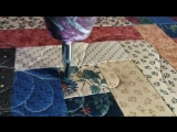 Feather fill tutorial Part 1, Free motion feathers, instructional video, bump back feathers