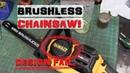 BOLTR: DeWALT Chainsaw   Engineering FAIL