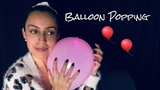 ASMR Balloon Sounds And Popping