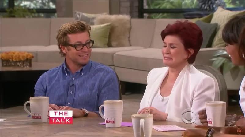 Simon Baker on The Talk (Sept 9, 2013) Sneak Peek of The Mentalist season 6