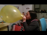 Amelia Bontempo - My friend can blow the biggest balloon