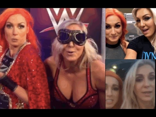 BEST OF WWE's Becky Lynch and Charlotte Flair (PART 1) (FUNNY) (Snapchat Instagram)