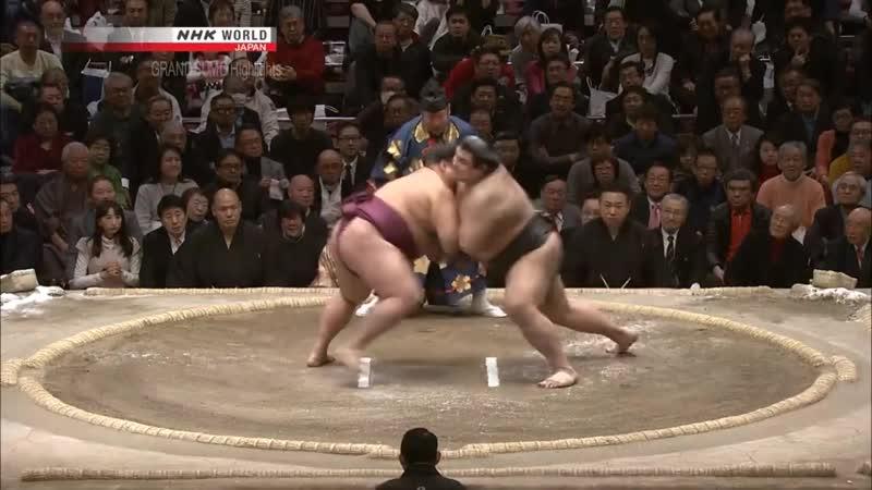 Sumo Hatsu Basho 2018 Day 15 January 28th