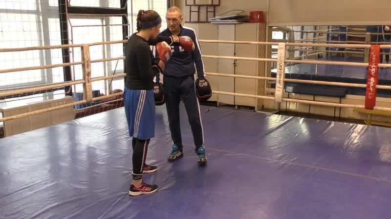 Бокс - Мощная двойка с уклоном