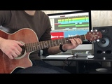 Shape Of My Heart(Sting) -Acoustic guitar cover with Universal Audio Arrow Audio Interface