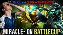 Liquid on Highest Tier Battlecup Miracle OD Pick EZ Rampage vs AdmiralBulldog Sylla Dota 2