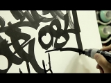 Тестирование во Freestyle маркер OTR.084 Calligraffiti