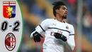 Gеnоа vs АС Мilаn 0 2 Highlights Goals Resumen Goles 2019 HD