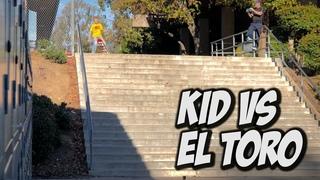 10 YEAR OLD VS EL TORRO 20 STAIR RAIL Feat Kristion Jordan NKA VIDS