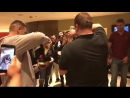 The SHOEY can't be stopped. - - @BamBamTuivasa has another SHOEY with a fan back at the hotel lobby UFC225..mp4