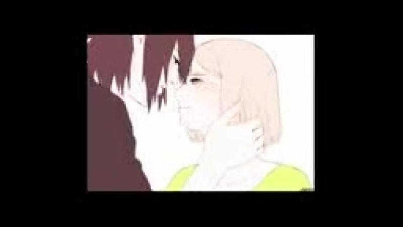 Сакура и саске пара из аниме наруто!