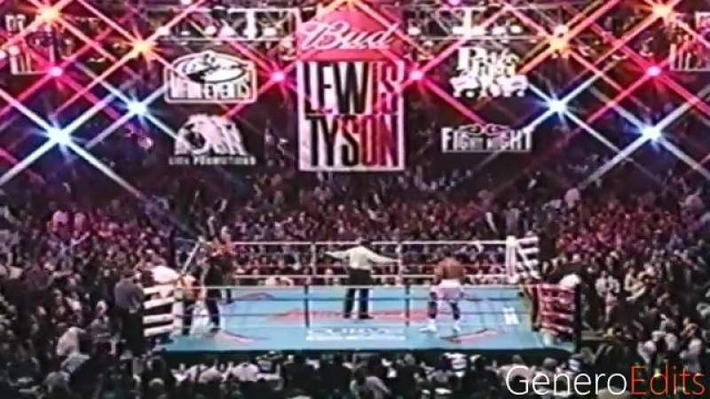 Mike Tyson vs Lennox Lewis