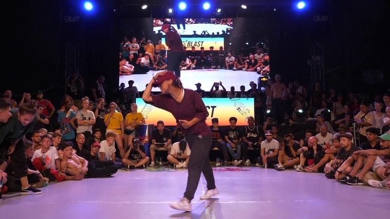 Outbreak Europe 2018 | 1vs1 Bgirl Finals | Kate vs Jilou | Danceproject.info
