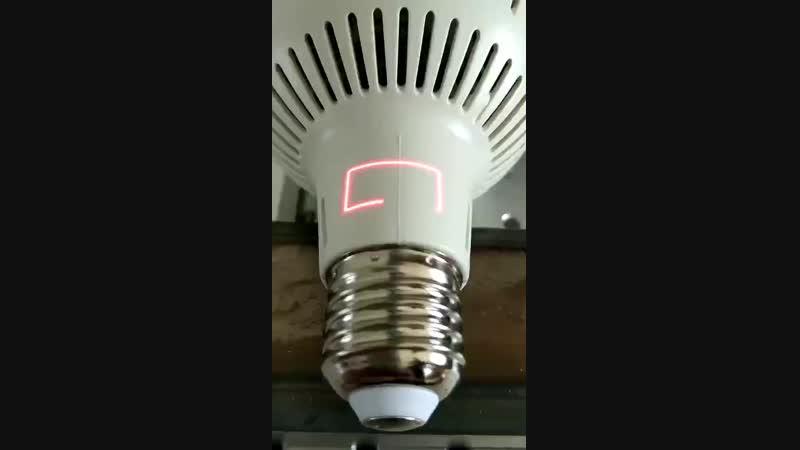 Laser Marking Bulb Plastic