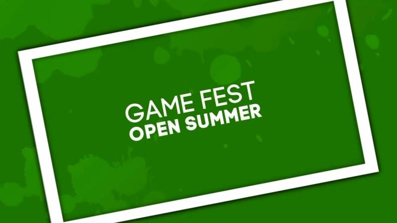 Game Fest Open Summer уже скоро