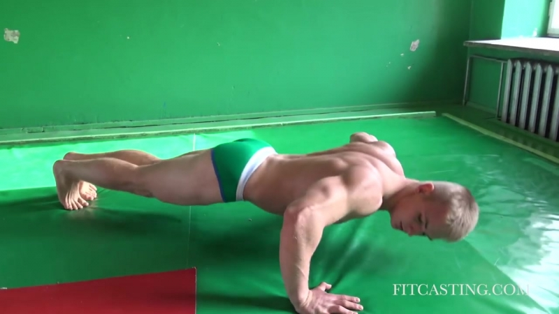 Fitness Model Casting Domantas (Part 2) - YouTube