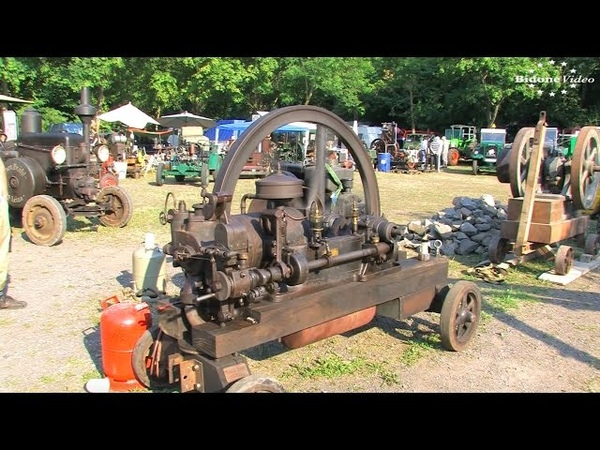 Bulldog Dampf Diesel 2015 - die Stationärmotoren 1/2 Stationary Engine Rally