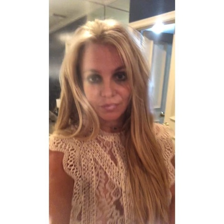 """Britney Spears on Instagram """"I wanted to say hi, because things that are being said have just gotten out of control Wow There's rumors, deat..."""