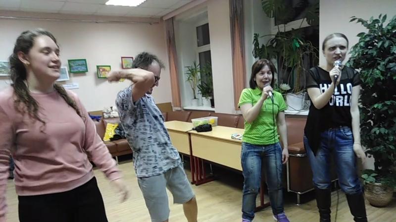 Балашова Людмила, Колесникова Анастасия и Romario -