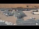 ВИДЕО ВС Турции доставляют бетонные блоки к наблюдательному пункту в зоне деэскалации в Сирии