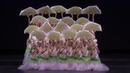 Красивый Танец с веерами от китайских балерин