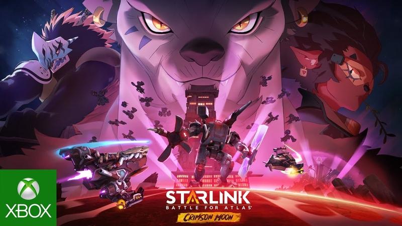 Starlink: Battle for Atlas: Crimson Moon Announce   Ubisoft [NA]