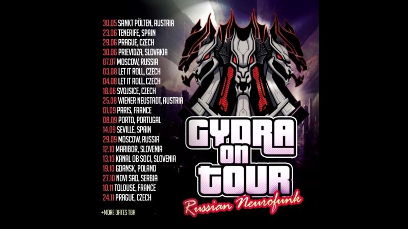 GYDRA ON TOUR