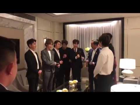 "Vedio C Super Junior with President Joko Widodo"""
