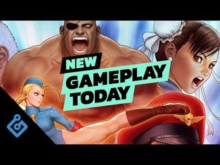 New Gameplay Today – Street Fighter 30th Anniversary Collection
