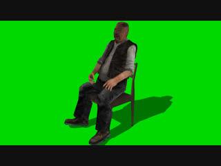S.t.a.l.k.e.r. green screen сидорович