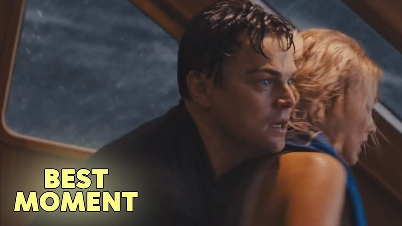 Leonardo DiCaprio and Margot Robbie on a Sinking Yacht | Wolf of Wall Street (2013) HD [BEST MOMENT]