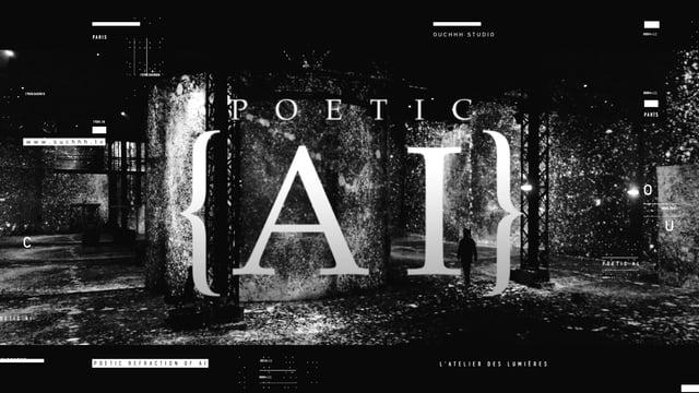 POETIC AI Exhibition Paris [teaser]