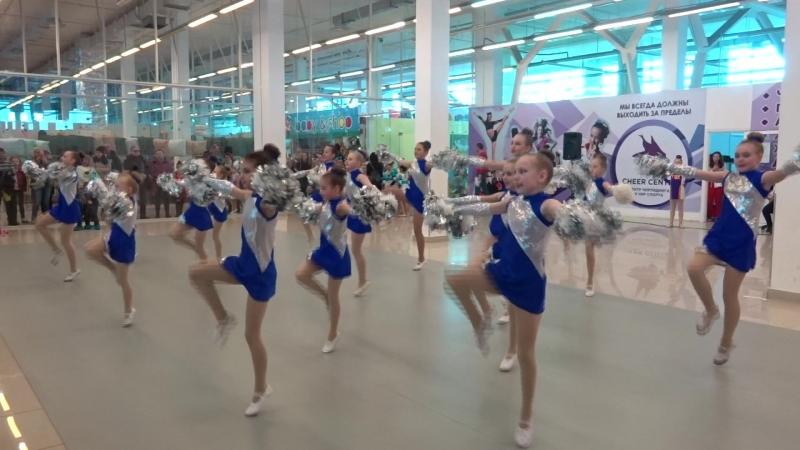 Фестиваль Черлидинга в Челябинске 11 03 2018 Команда Шаркс 2 место