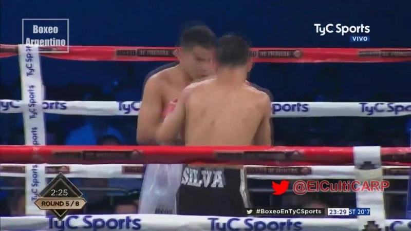 Джуниор Леандро Зарате vs Абель Леандро Силва (Junior Leandro Zarate vs Abel Leandro Silva) 21.09.2018