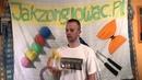8 Kaskada odbijana od głowy - Off The Top Of The Head tutorial - Jak żonglować 3 piłkami? 6 kroków